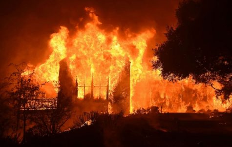Massive Wildfires Sweeping Across Northern California