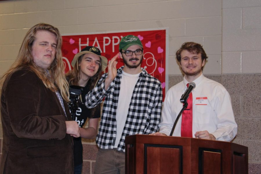 Sixteenth Annual Valentine's Day Banquet at CHS