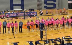 Navigation to Story: Pink Out Night Brings in a Win for the Lions